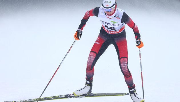 Teresa Stadlober im Skiathlon-Weltcup auf Rang 12 (Bild: GEPA pictures)