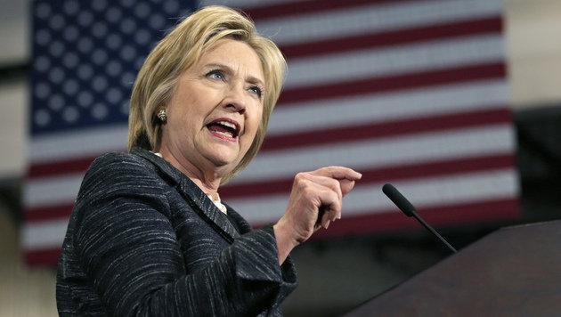 F�r Hillary Clinton wird es noch ein harter Kampf. (Bild: ASSOCIATED PRESS)