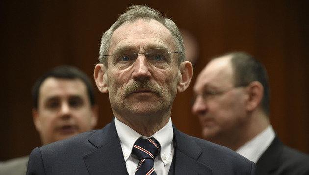Ungarns Innenminister Sandor Pinter (Bild: APA/AFP/JOHN THYS)