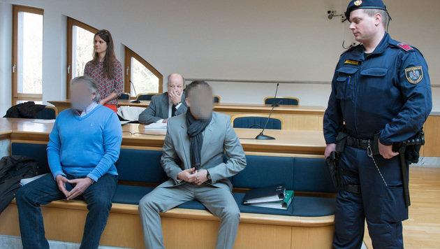 Die beiden Beschuldigten leugneten bis zuletzt. (Bild: FOTOKERSCHI.AT/KERSCHBAUMMAYR)