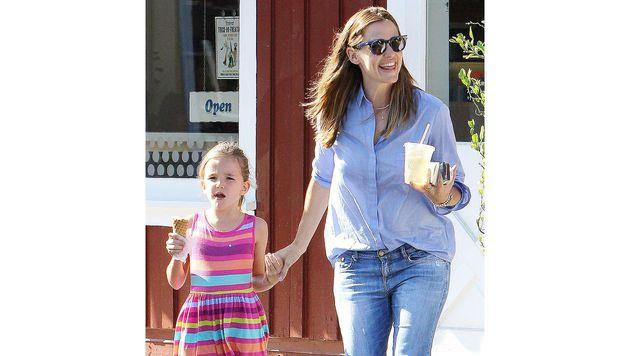 Jennifer Garners Kids sind echte Schleckermäuler. (Bild: Viennareport)