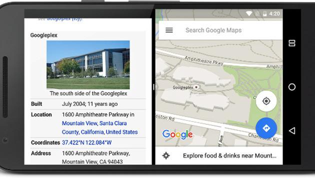 Google erlaubt ersten Blick auf Android N (Bild: Google)