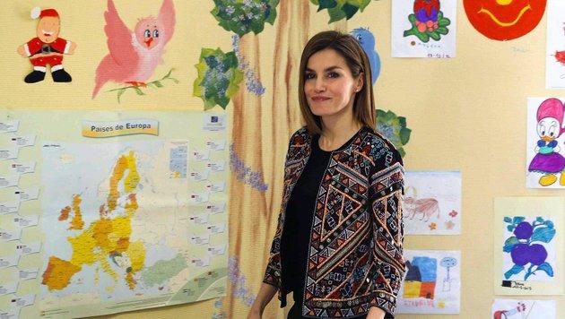 Königin Letizia: Ordinäre Kraftausdrücke (Bild: EPA)