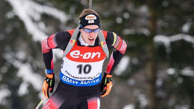 Dominik Landertinger (Bild: APA/AFP/JONATHAN NACKSTRAND)
