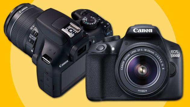 EOS 1300D: Neue Einsteiger-Spiegelreflex von Canon (Bild: Canon)