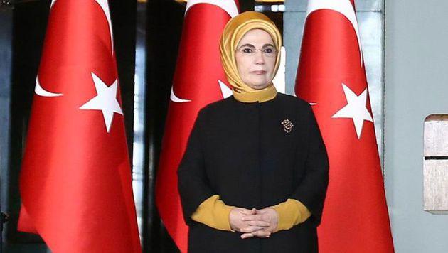 Emine Erdogan (Bild: APA/AFP/ADEM ALTAN)