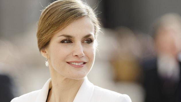 Königin Letizia von Spanien (Bild: AP)