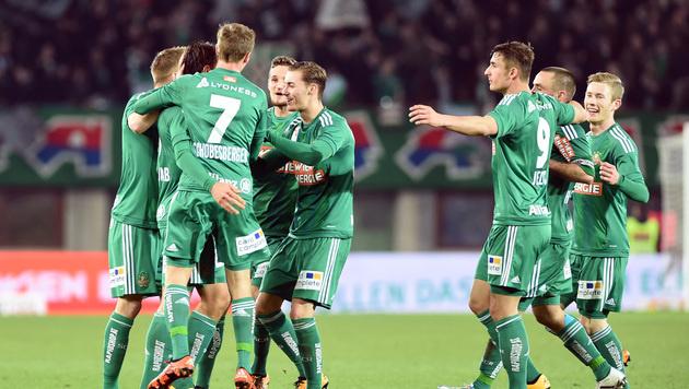 """Rapid-Budget für neue Saison """"rund 30 Mio. Euro"""" (Bild: APA/HERBERT P. OCZERET)"""