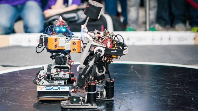 Roboter kämpfen am Wochenende in Wien um Medaillen (Bild: Christoph Welkovits)