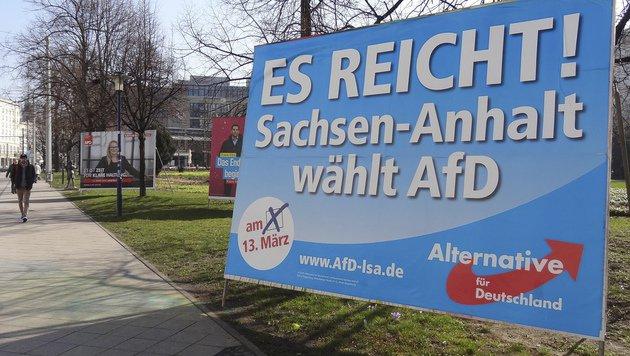 Die AfD bleibt ein Stachel im Fleisch der CDU. (Bild: ASSOCIATED PRESS)