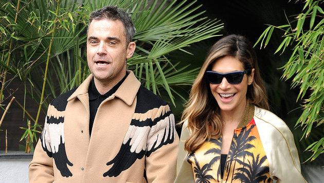 Ayda Field verrät: So ist Robbie Williams im Bett (Bild: Viennareport)