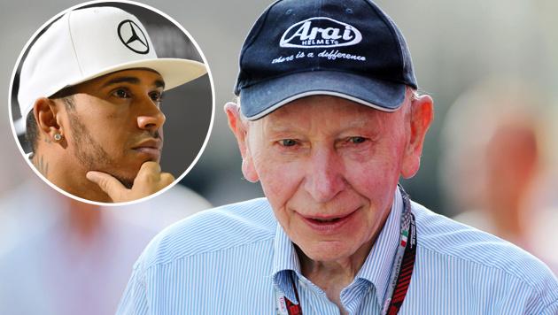 Formel-1-Legende nimmt sich Hamilton zur Brust (Bild: GEPA, APA/AFP/THOMAS KIENZLE)