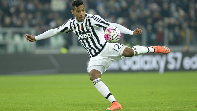 Juventus-Spieler Alex Sandro (Bild: AP)