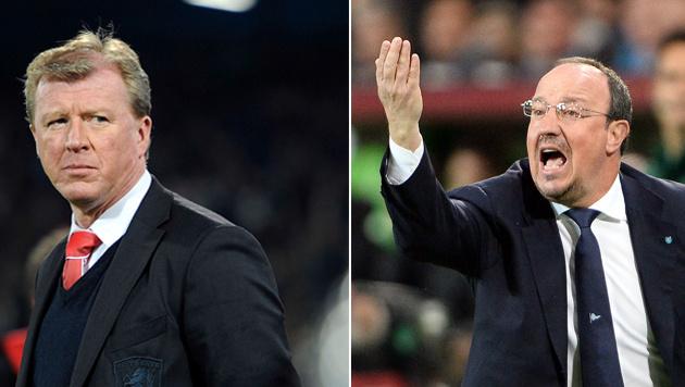 Folgt Rafael Benitez (rechts) auf Steve McLaren? (Bild: GEPA)