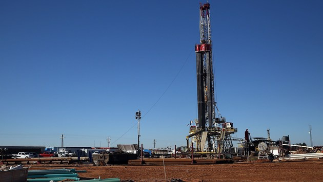 Eine Fracking-Station in den USA (Bild: APA/AFP/Getty Images/Spencer Platt)