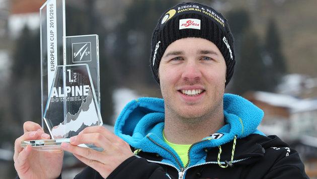 Walder holt Europacup-Abfahrts-Gesamtwertung (Bild: GEPA)