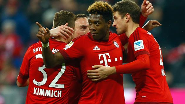 Bayern mit Schützenfest: 5:0 gegen Werder Bremen (Bild: AP)
