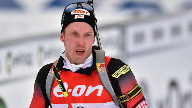 Biathlon-Herren WM-Vierte, Gold geht an Norwegen (Bild: GEPA)
