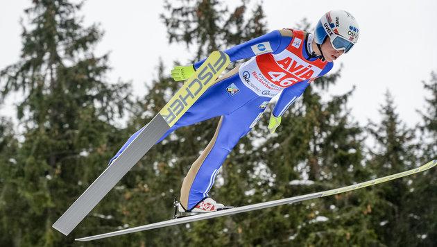 Forfang feiert ersten Weltcupsieg - Kraft nur 22. (Bild: GEPA)
