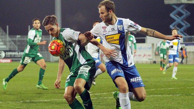 Grödig nach 0:1 gegen SVM weiter am Tabellenende (Bild: APA/KRUGFOTO)