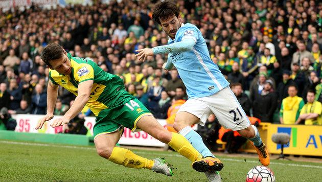 ManCity patzt im Titelrennen: 0:0 bei Norwich City (Bild: AP)