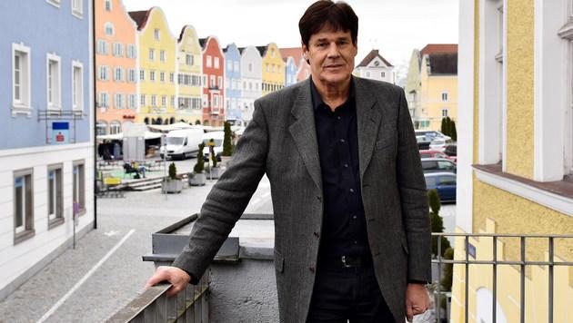 Bürgermeister Franz Angerer (Bild: Markus Wenzel)