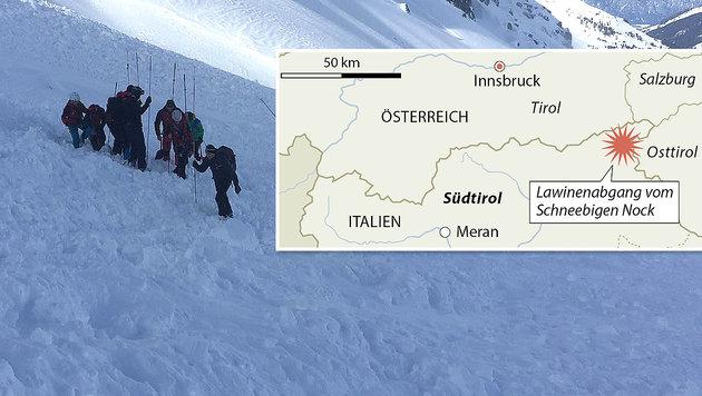 Tiroler Wirtschaftsboss stirbt bei Lawinentragödie (Bild: APA, APA/ZOOM.TIROL (Symbolbild))