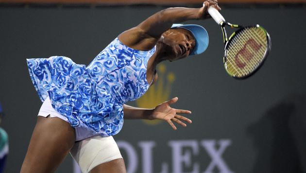 Venus Williams: Nur kurze  Indian-Wells-Rückkehr (Bild: AP)