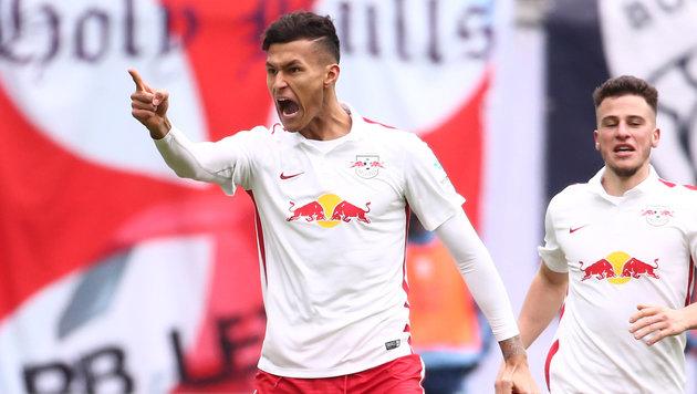 2:1! Leipzig dreht Spiel gegen 1860 München (Bild: GEPA)