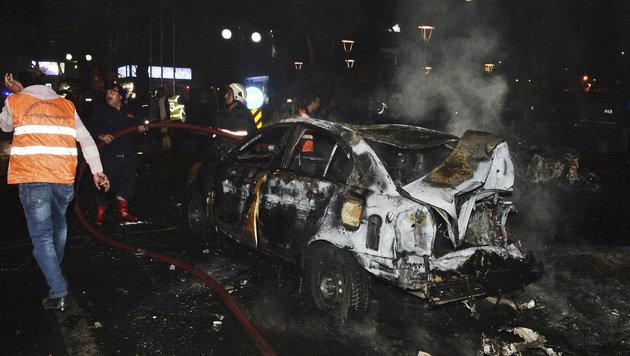 Dutzende Tote bei Anschlag im Zentrum von Ankara (Bild: AP)