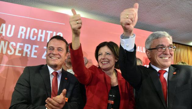 Malu Dreyer, SPD-Ministerpräsidentin von Rheinland-Pfalz (Bild: APA/dpa/Boris Roessler)