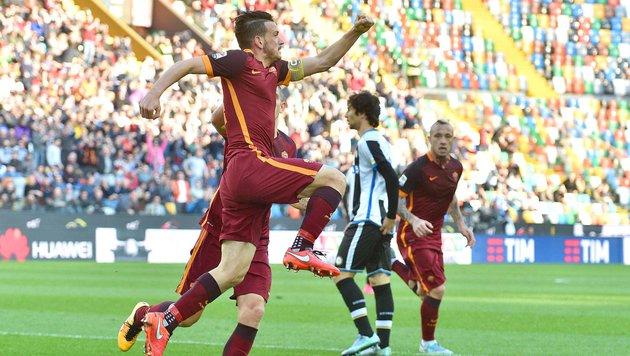 AS Roma feiert den achten Sieg in Folge in Serie A (Bild: AFP or licensors)