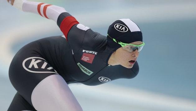 Bittner erobert Rang 4 im Eisschnelllauf-Weltcup (Bild: AP)
