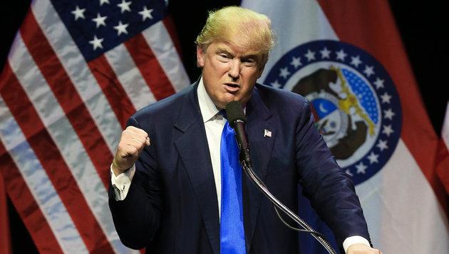 """Trump: """"Waterboarding und noch viel Schlimmeres"""" (Bild: Associated Press)"""