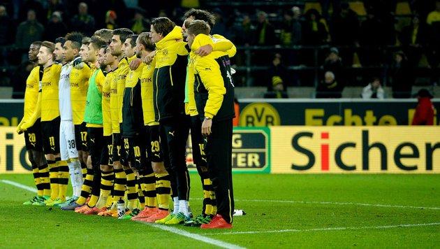 Fußball-Fan stirbt in Dortmund während des Spiels! (Bild: AFP or licensors)