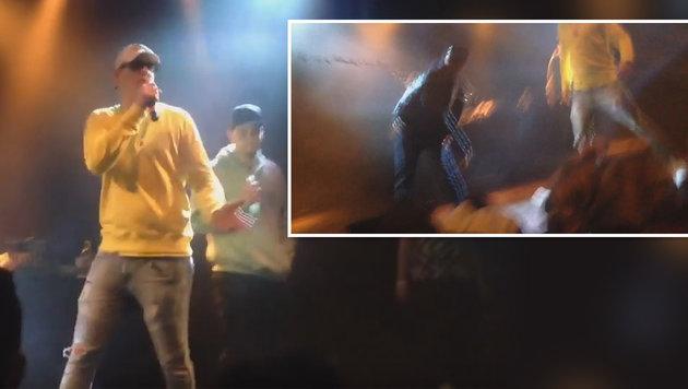 Money Boy rastet aus: Anzeige! (Bild: YouTube.com)