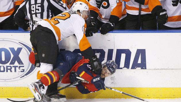 Raffl trifft bei Flyers-Pleite, zwei Vanek-Assists (Bild: AP)