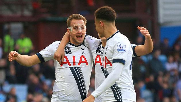 Tottenham macht Leicester Feuer an der Ligaspitze (Bild: AP)