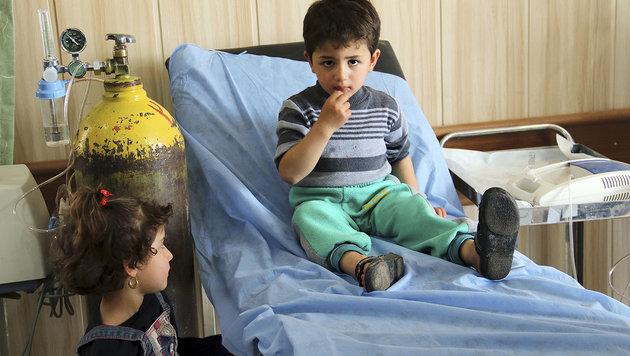 IS greift irakische Stadt mit chemischen Waffen an (Bild: Associated Press)