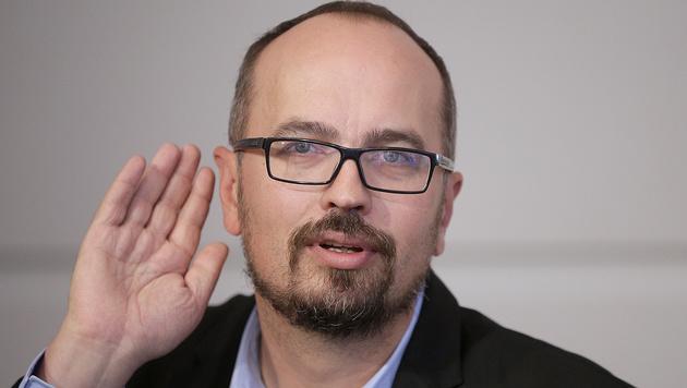 Der grüne Europaabgeordnete Michel Reimon (Bild: APA/Georg Hochmuth)