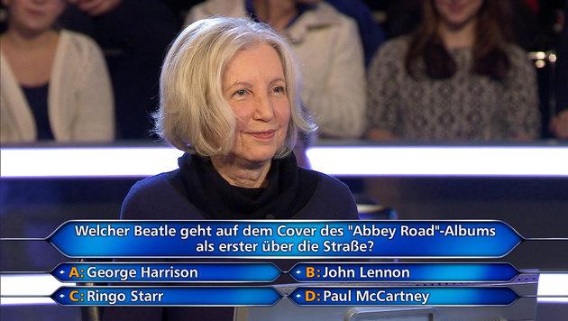 Die Millionenfrage war Riki Rittberg dann doch zu knifflig. (Bild: ORF)