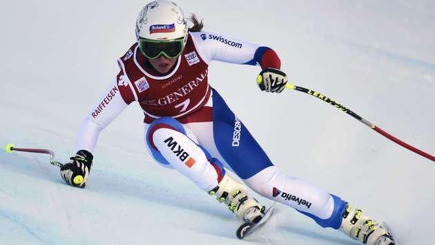 Corinne Suter (Bild: AFP)