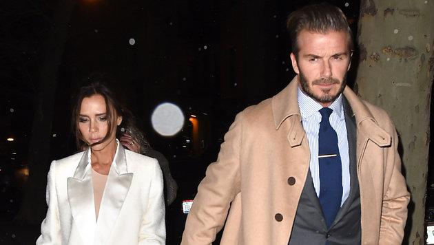 Victoria Beckham und David Beckham (Bild: Viennareport)