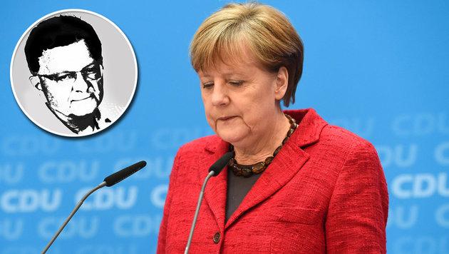 Deutschlands böses Spiel mit Menschenleben (Bild: AFP PHOTO / ODD ANDERSEN, Krone-Grafik)