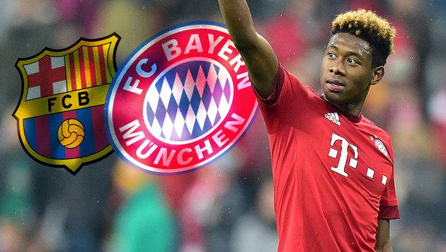 FC Bayern: Kampf um David Alaba geht weiter (Bild: GEPA)