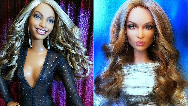 """Beyonce und Jennifer Lopez gehören zu Cyrus"""" Puppen. (Bild: instagram.com/cyguydolls)"""