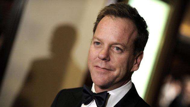 Schauspieler Kiefer Sutherland entdeckt den Folk (Bild: Paul Buck/EPA/picturedesk.com)