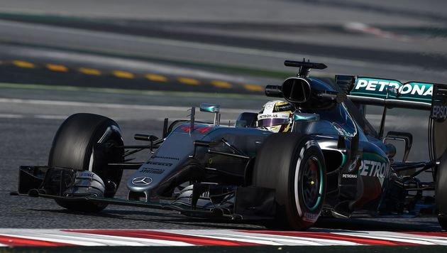 """Wolff: """"Es knistert zwischen Hamilton und Rosberg"""" (Bild: APA/AFP/LLUIS GENE)"""