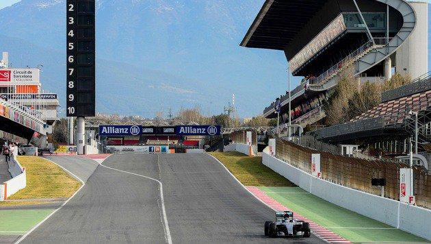 """Wolff: """"Es knistert zwischen Hamilton und Rosberg"""" (Bild: APA/AFP/JOSEP LAGO)"""
