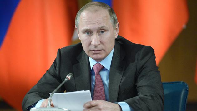 Kremlchef Wladimir Putin hat ein Zweckbündnis mit Erdogan geschlossen. (Bild: AP)